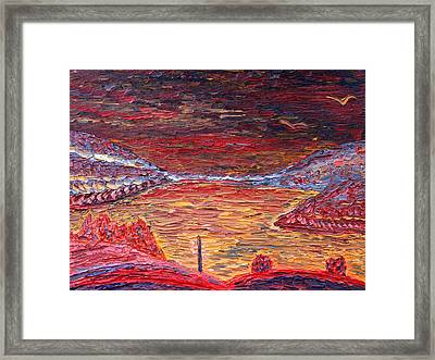 Early Morning At West Point Framed Print