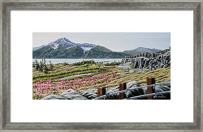 Early Morning Bird Point Framed Print by Kurt Jacobson