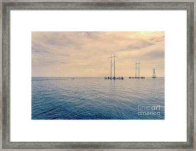 Early Morning Boat Ride - Nola Framed Print by Kathleen K Parker