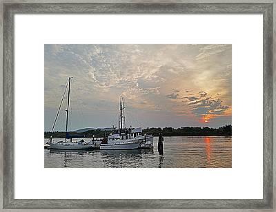 Early Morning Calm Framed Print