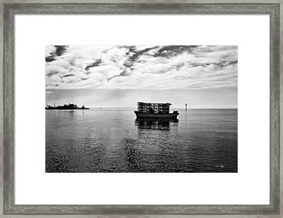 Early Morning Crabber Framed Print by Scott Pellegrin