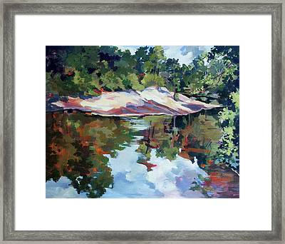 Early Morning Creekside Alabama Framed Print