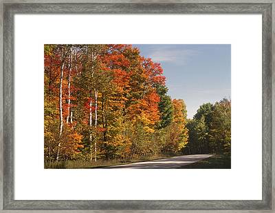 Early Morning In Door County Framed Print by Sandra Bronstein
