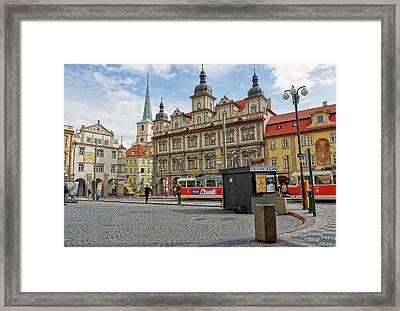 Early Morning In Prague Framed Print