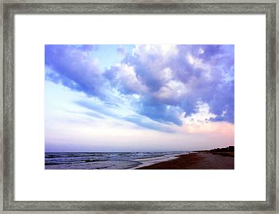 Early Morning In The Dunes 3 Framed Print by Alan Hausenflock