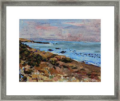 Early Morning Low Tide Framed Print