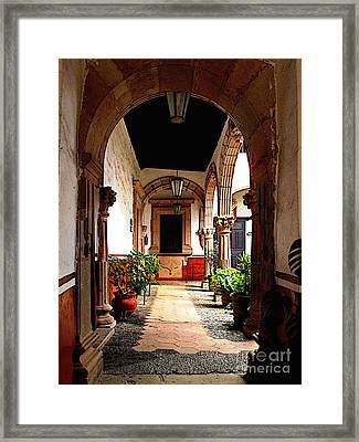 Early Morning Framed Print by Mexicolors Art Photography