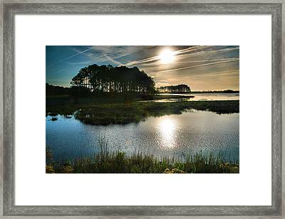 Early Morning On Beach Drive II Framed Print by Steven Ainsworth