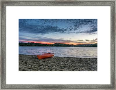 Early Morning On Oxtongue Lake Framed Print