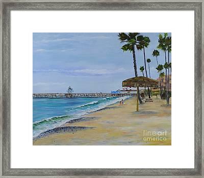 Early Morning On The Beach Framed Print