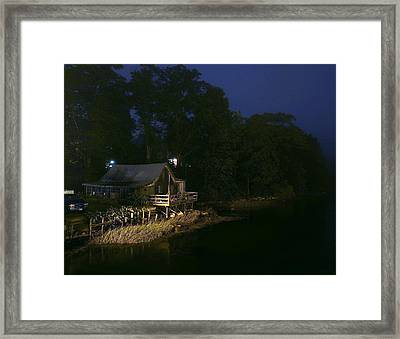 Early Morning On The River Framed Print