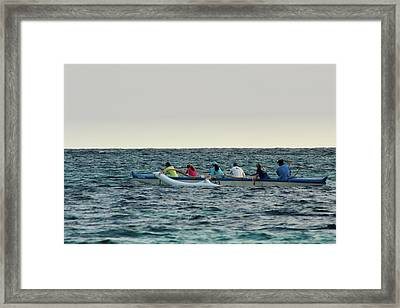 Early Morning Outing Framed Print