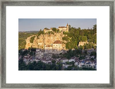 Early Morning Over Rocamadour Framed Print