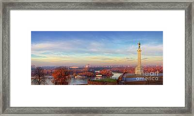 Early Morning Framed Print by Panorama Guru