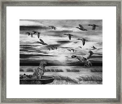 Early Morning Framed Print by Peter Piatt