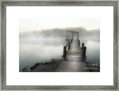 Yesterday's Early Morning Pier Framed Print by Tamyra Ayles