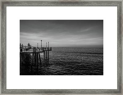 Early Morning Redondo By Mike-hope Framed Print