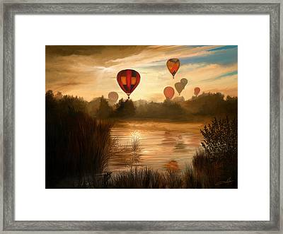 Early Morning Rise Framed Print by Dale Jackson