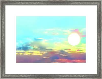 Early Morning Rise- Framed Print