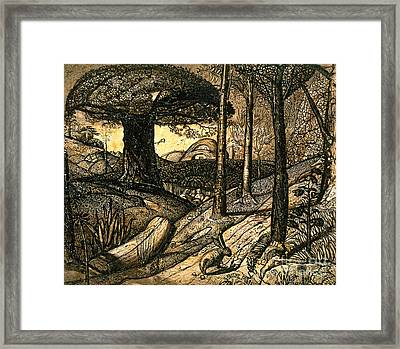 Early Morning Framed Print by Samuel Palmer
