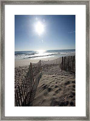 Early Morning Shadows Framed Print by Mary Haber
