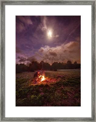 Early Morning Solitude Framed Print by Phil Koch