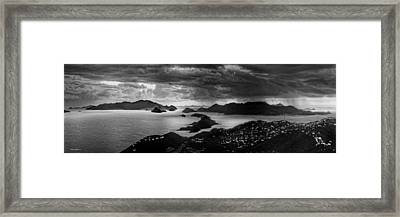 Early Morning Squalls Framed Print