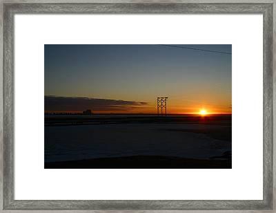 Early Morning Sunrise Framed Print by Anthony Jones