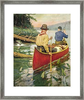 Early Morning Thrill Framed Print by JQ Licensing