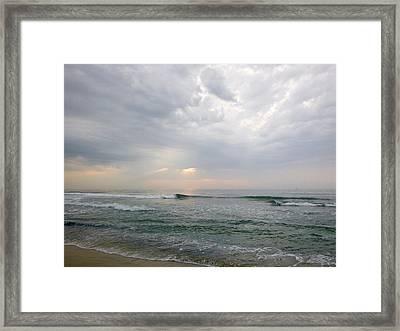 Early Morning Thunderstorm Framed Print