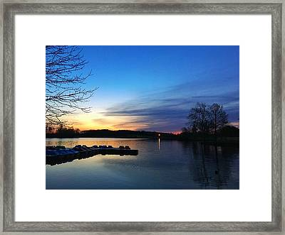Early Morning Tranquility  Framed Print