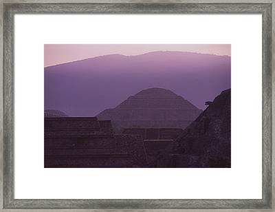 Early Morning View From Quetzalcoatl Framed Print by Kenneth Garrett
