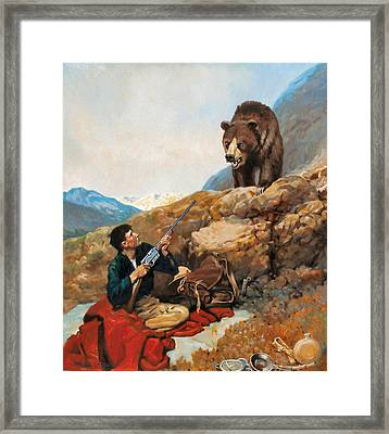 Early Morning Visitor Framed Print by Kevin Lawrence Leveque