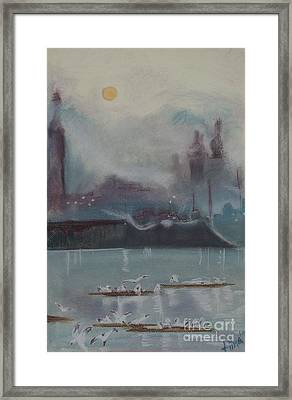 Early Mornings Meeting Framed Print by Tiina Rauk