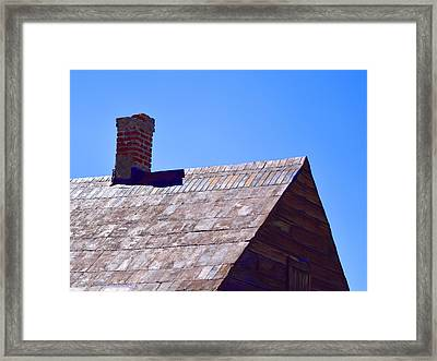 Early Recycling Framed Print