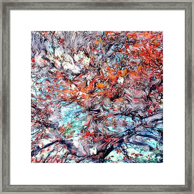 Early Reflections Framed Print by Paul Tokarski