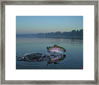 Early Riser Framed Print by Brian Pelkey