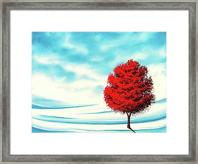 Early Snow Framed Print by Rachel Bingaman