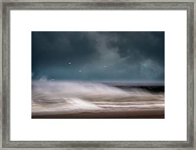 Early Spring At Nauset Beach Framed Print