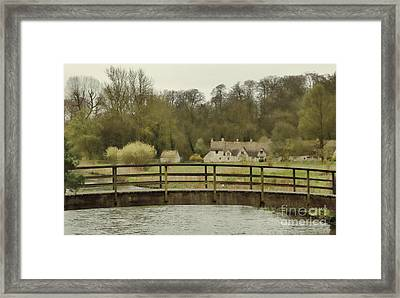 Early Spring In The Counties Framed Print by Jasna Buncic