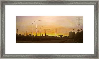 Early Start Port Kembla Framed Print by Brett McGrath