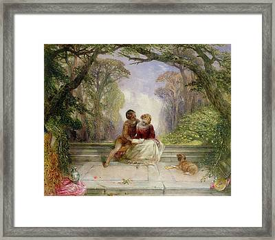 Early Summer Framed Print by Alfred Woolmer