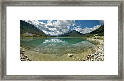 Early Summer Day On Goat Pond Framed Print