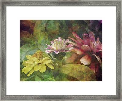 Early Summer Flowers 1304 Idp_2 Framed Print