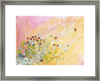 Early Summer Winds Framed Print by Christine Alfery