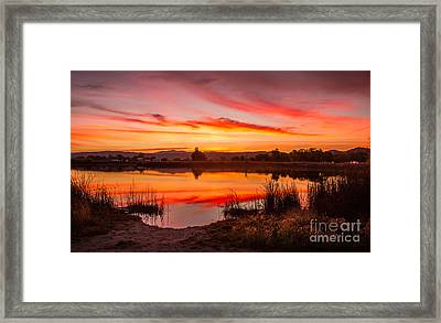 Early Sunrise Framed Print by Robert Bales