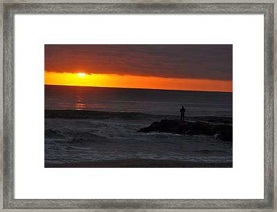Early To Rise Framed Print by Joe  Burns