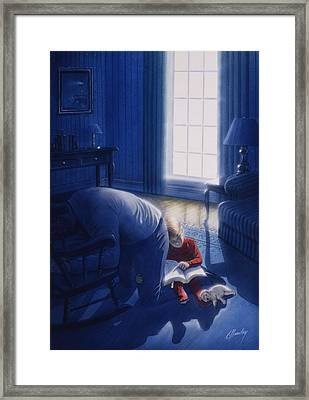 Early Will I Seek Thee Framed Print by Cliff Hawley