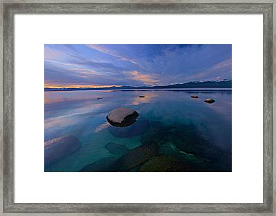 Early Winter Framed Print by Sean Sarsfield