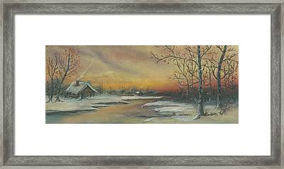 Early Winter Framed Print by Shelby Kube